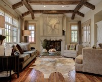 Bedroom Design: Traditional Family Room Off White Roman ...