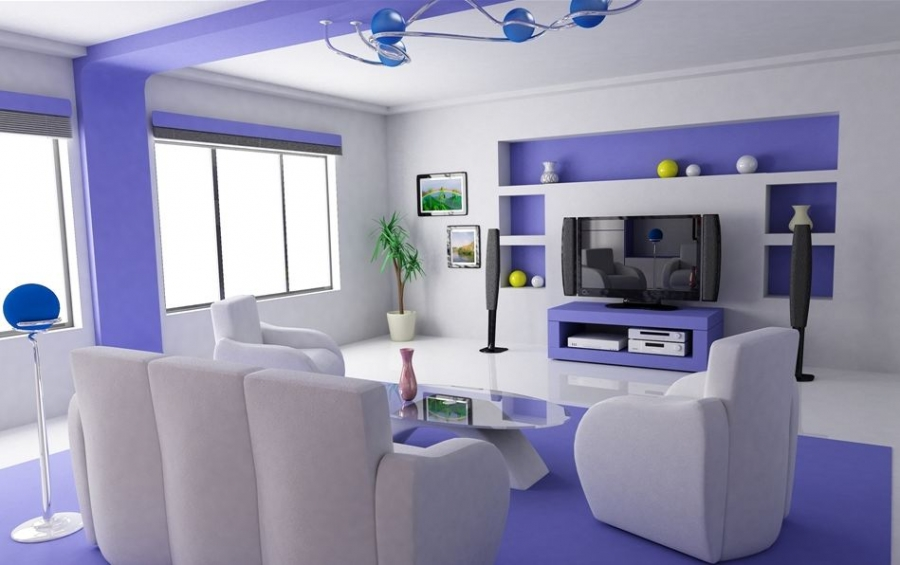 bright colour living room ideas open plan kitchen designs design awesome small blue luxurious with simple decoration