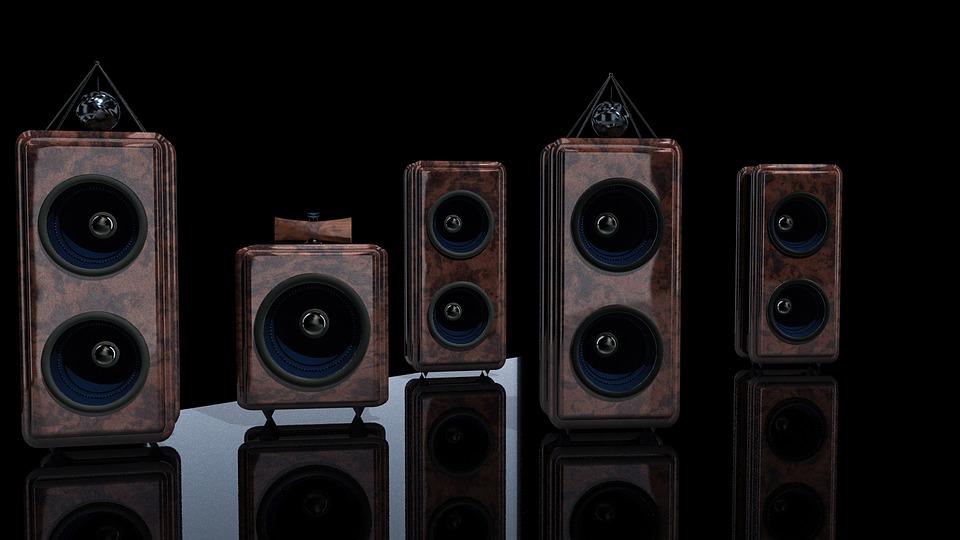 speakers-music