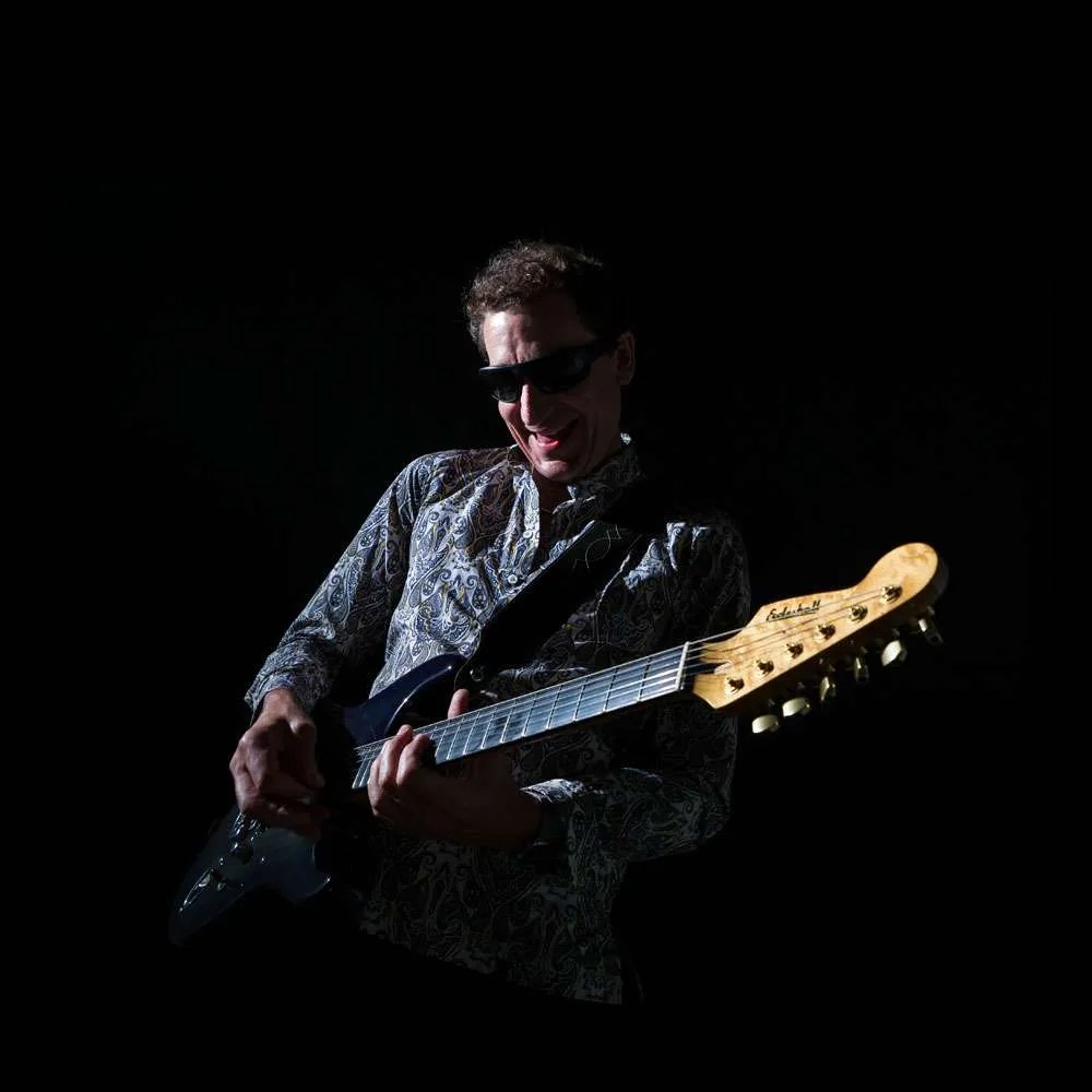 Steve Osman dark guitar