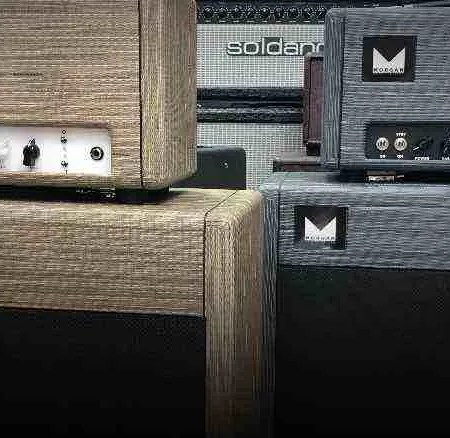 Morgan and Soldano Amps. Music Store Sound Unlimited. Plymouth.