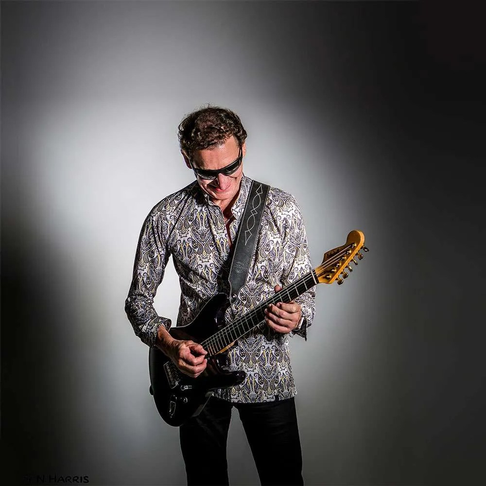 Steve Osman Playing Eccleshall Stratocaster