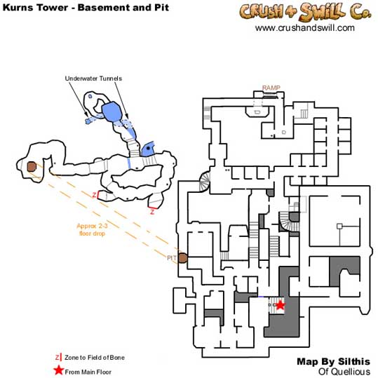 EQ Kurn's Tower maps