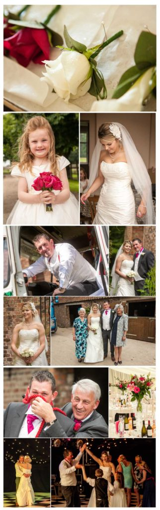 wedding photography All Hallows Church, Sutton On Forest