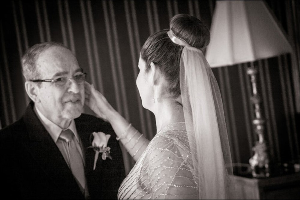 Dad sees bride, Swinton Park