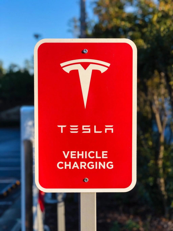 Tesla Vehicle Charging