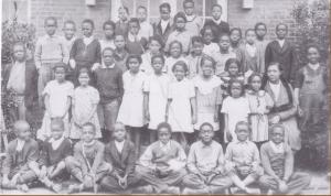 John Coltrane's 3rd Grade Class Photo -- High Point North Carolina - 1934