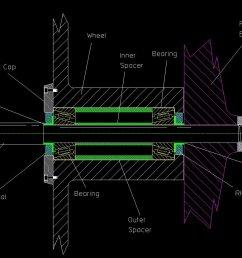 simplified wheel bearing diagram click to enlarge  [ 1126 x 828 Pixel ]