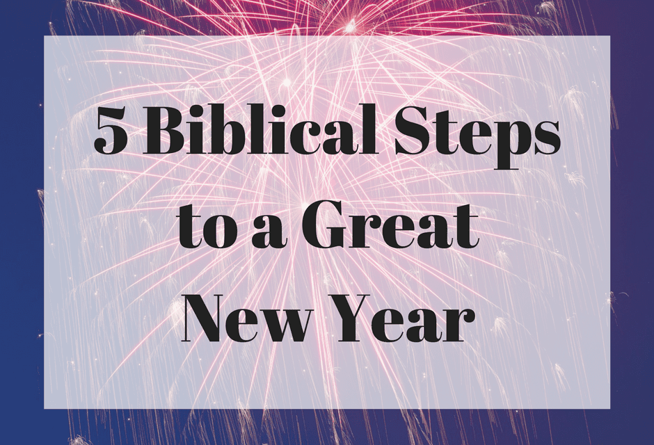 5 biblical steps to
