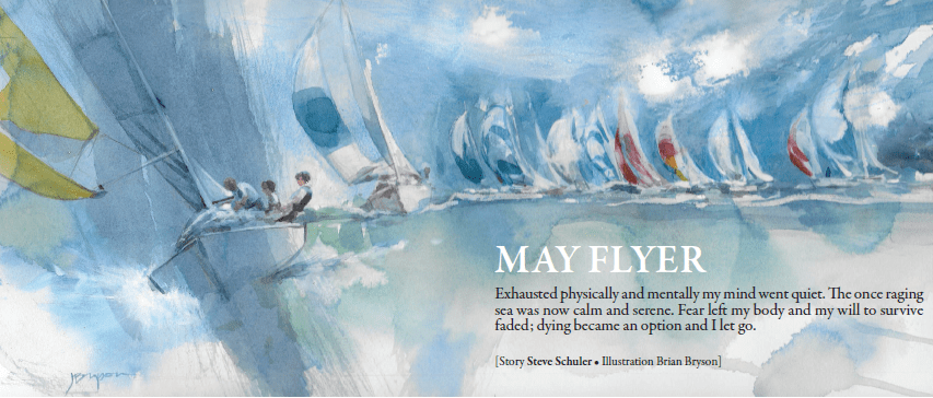 May Flyer illustration by Brian Bryson