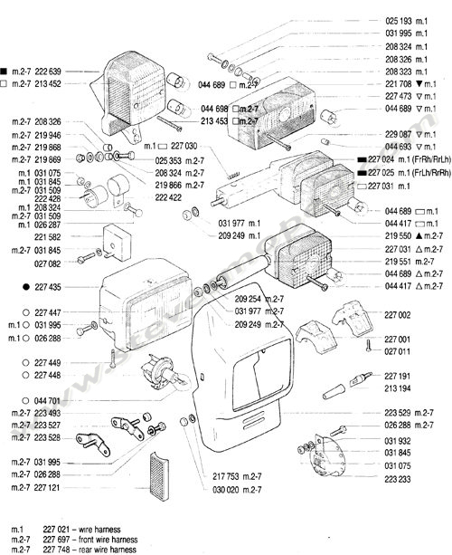 Catalogs / TOMOS BULLET A35 /ELECTICAL PARTS
