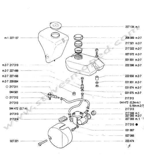 Catalogs / TOMOS BULLET A35 /OIL PUMP,OIL TANK