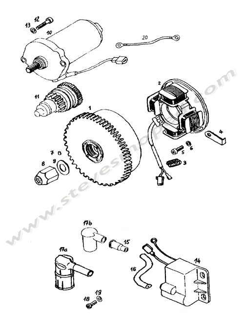 Catalogs / TOMOS REVIVAL A35 /MAGNETO ASSEMBLY STARTER
