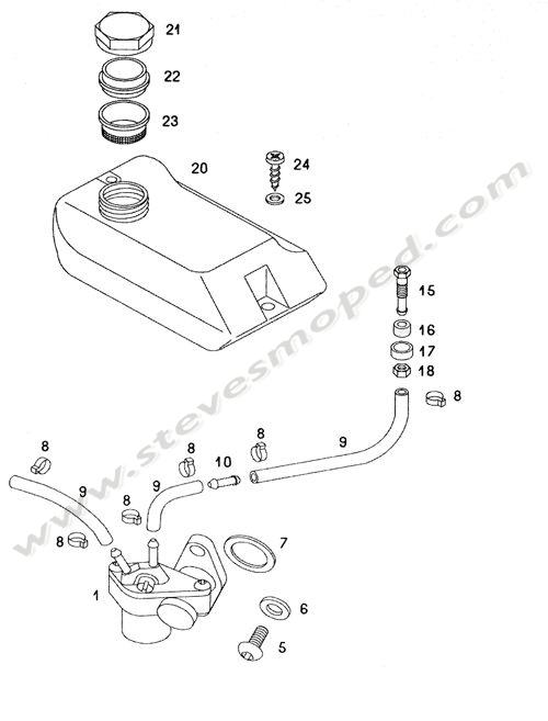 Catalogs / TOMOS SPRINT A55 /OIL PUMP,OIL TANK