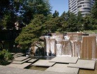 Urban and Modern Waterfalls  Iras Fountain, Portland