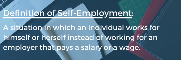 Definition of Self-Employment-