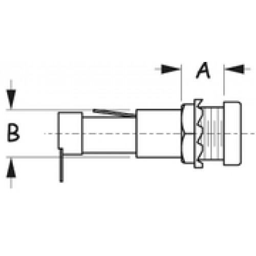 SEADOG SEADOG Round Fuse Holder W/Fuse Cap
