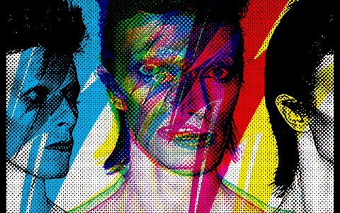 Bowie - Print series for a gallery show.