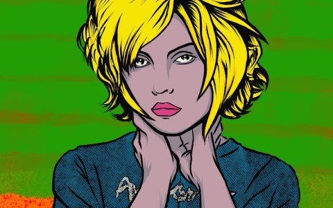 DEBBIE HARRY - DIGITAL ILLUSTRATION