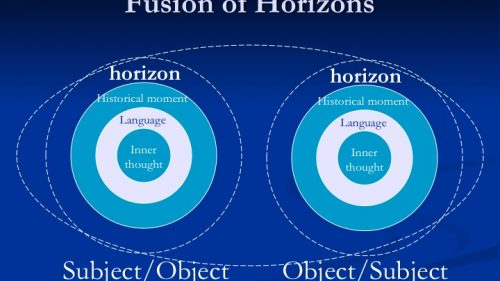fusion of horizons