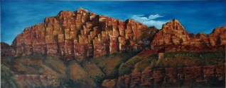 """Zion"" oil on canvas 36"" x 60"""