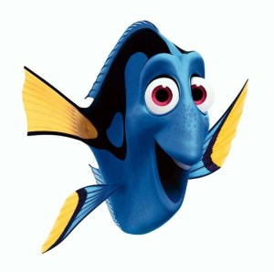 Dory from Finding Nemo by Pixar
