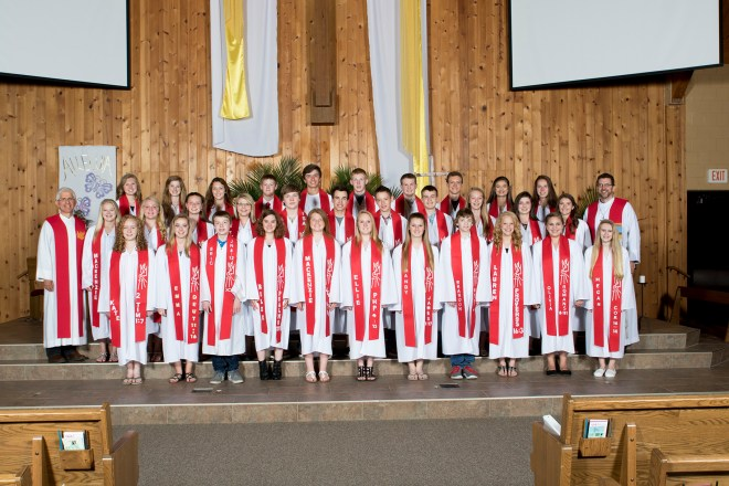 Confirmation 2015 Grace Lutheran Church