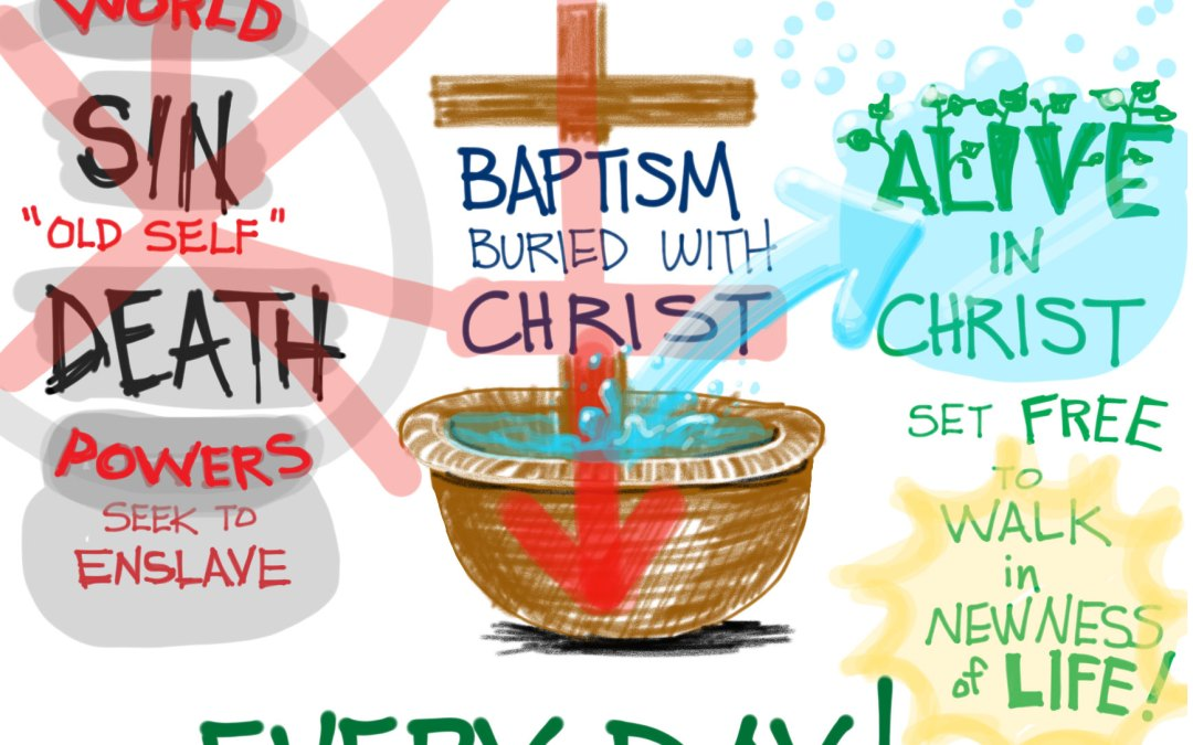 A Cartoonist's Guide to Romans 6:1-14