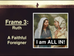 A Call to Friendship | A Sermon on Vocation from Ruth 1:1-17