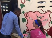 Haiti mural Tuesday 3