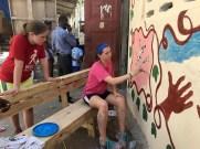 Haiti mural Tuesday 4