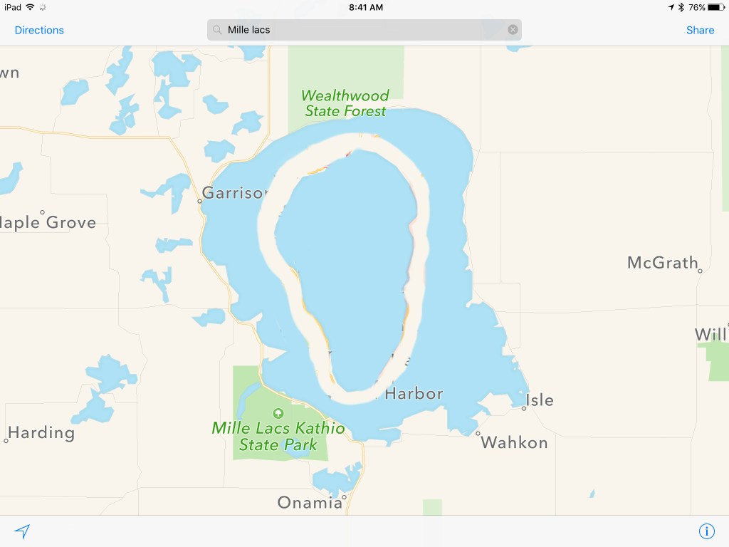 Sea of Galilee and Mille Lacs