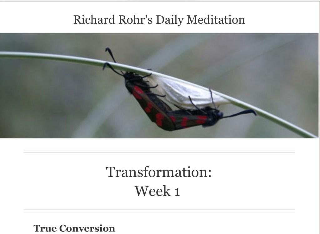 Richard Rohr conversion