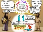 A Cartoonist's Guide to the Good Samaritan in Luke 10:25-37