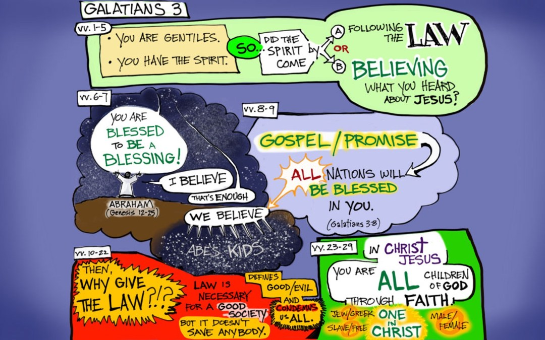 A Visual Commentary on Galatians 3:1-29 from the Narrative Lectionary