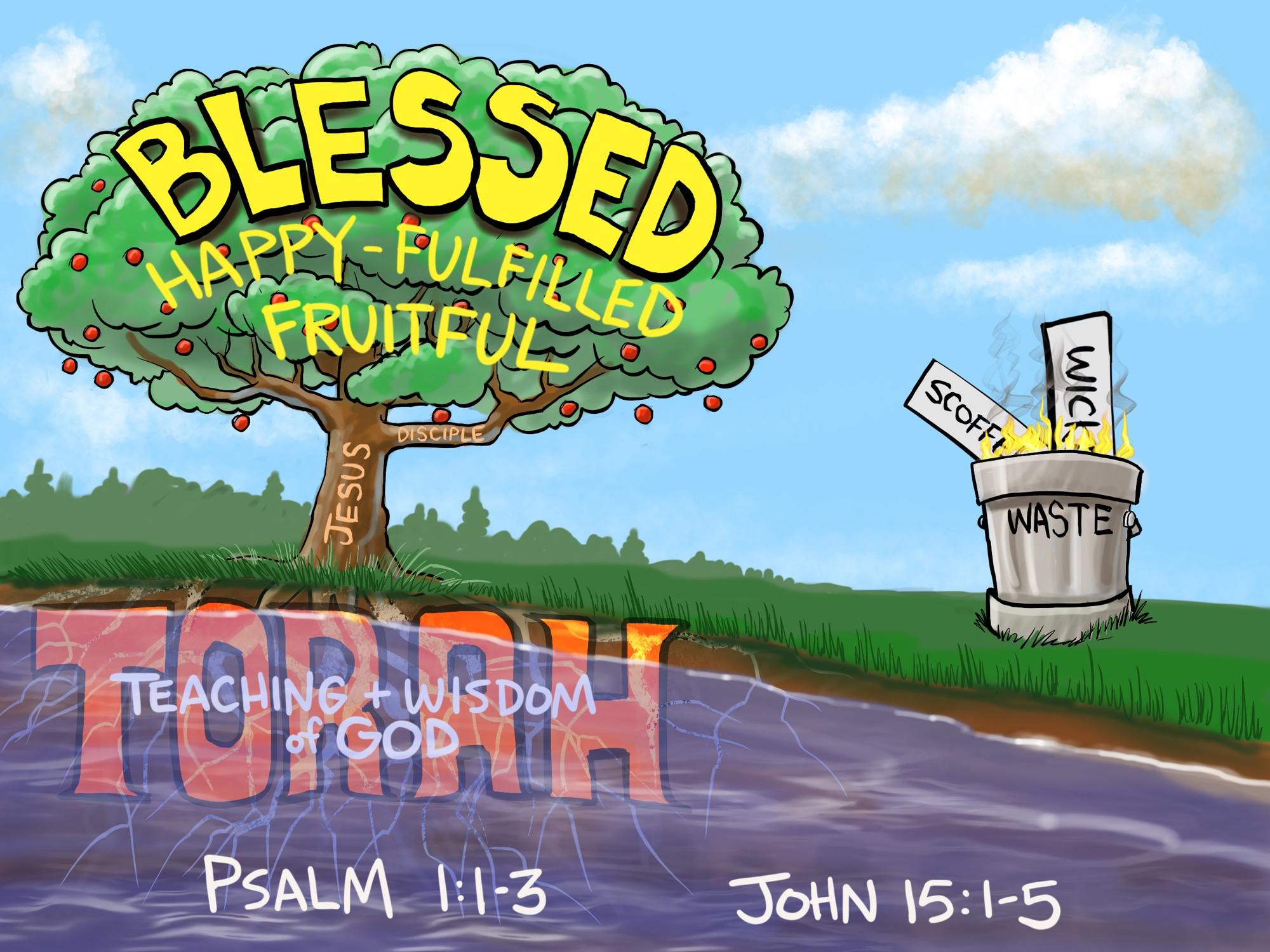 What is A Deep Life?  A Sermon from Psalm 27:27-27 and John 2727:27-27