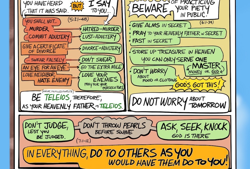 A Cartoonist's Guide to the Sermon on the Mount