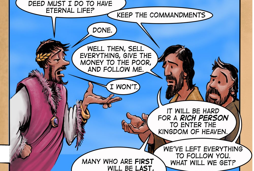 Traveling to Jerusalem | Page 14 of A Cartoonist's Guide to Matthew is Online