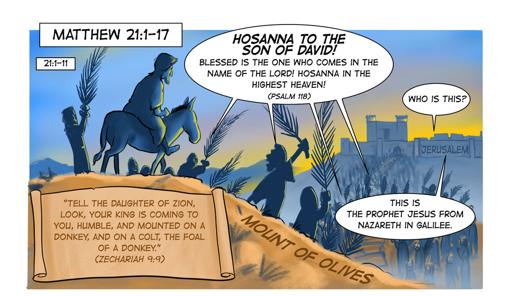Pages 15 and 16 of A Cartoonist's Guide to Matthew are Now Online