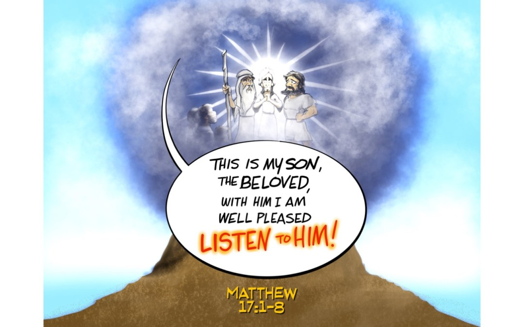 Post Mountain Top Syndrome   A Sermon for Transfiguration Sunday from Matthew 17:1-8