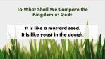 The Parable of A Mustard Seed | A Sermon from Mark 4:30-32