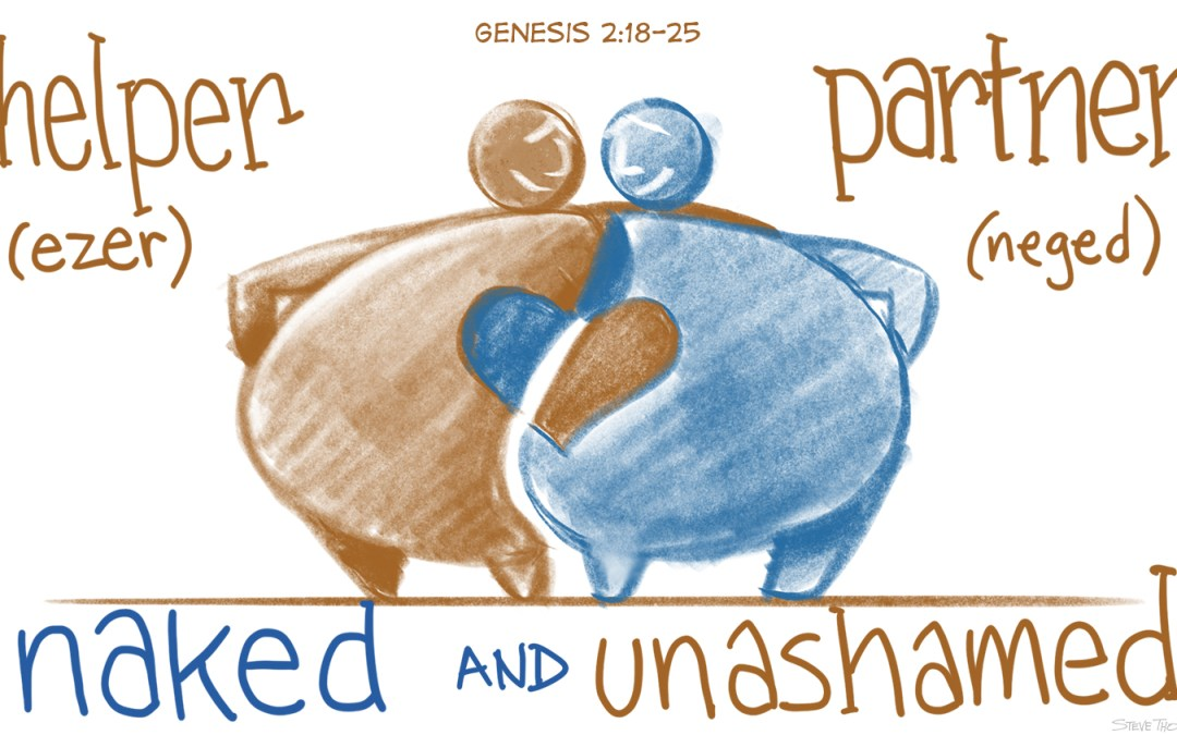 A Cartoonist's Guide to Genesis 2:18-25