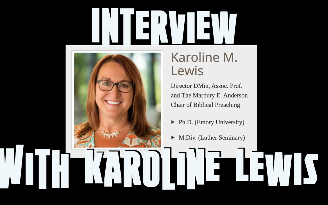 We Wish to See Jesus | An interview with Karoline Lewis