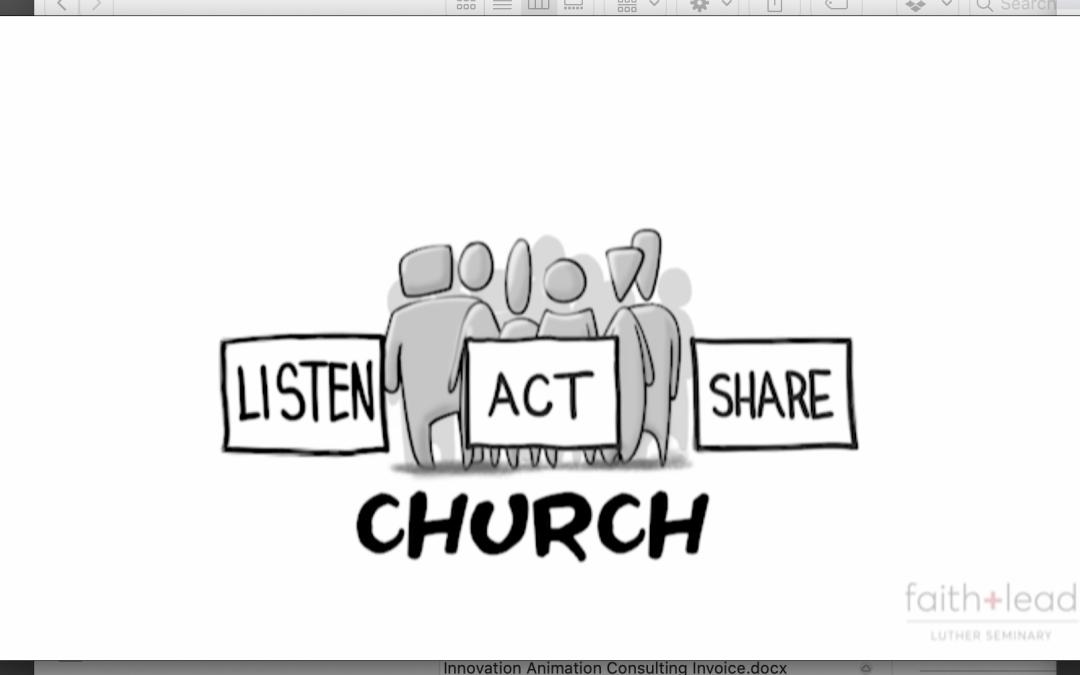 Listen, Act, Share Explainer Video Animation