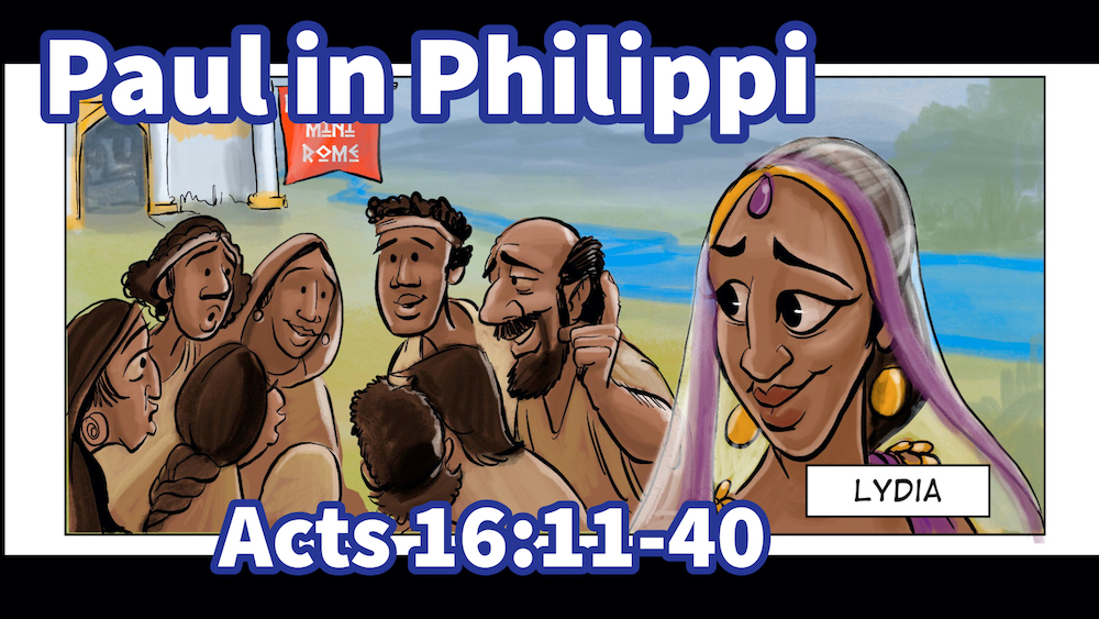 Paul in Philippi | A Cartoonist's Guide to Acts 16:11-40