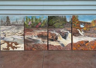 Four Seasons of Gooseberry