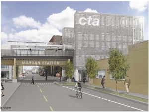 morgan cta station rendering