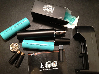 epower 2800 e-cigarette review, updated epower 18650 included items image