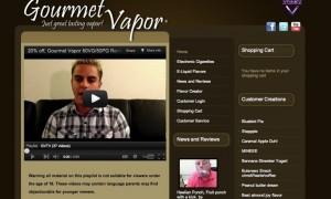 gourmet vapor screenshot