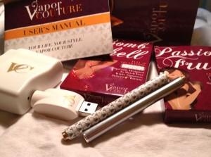 Vapor Couture Review kit contents